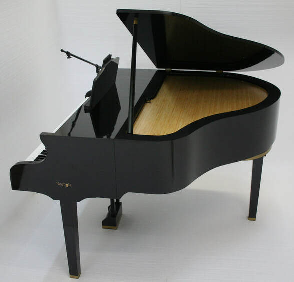 mobile portable baby grand piano for keyboard