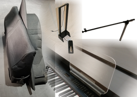 collage of accessories for grand piano